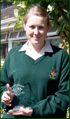 Senior student of year eadaoin copeland