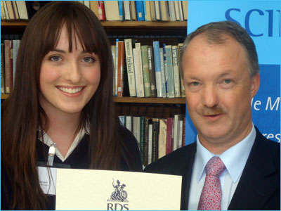 Claire Donegan Young Science Writer Award