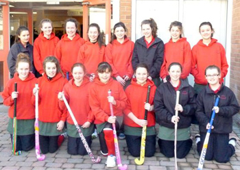 second year hockey team