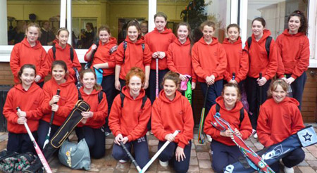 first year hockey team