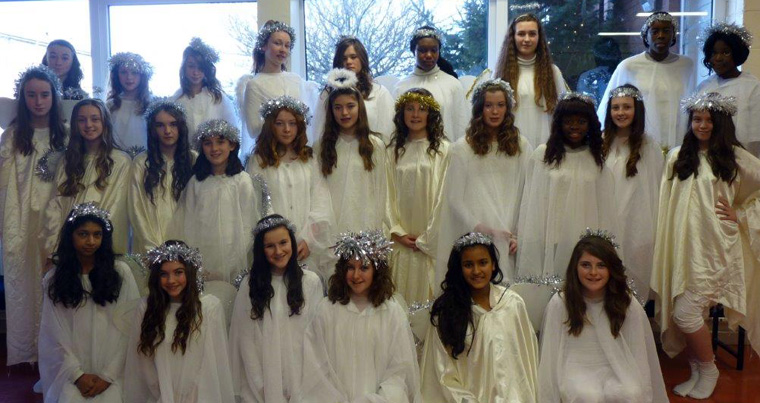 nativity angels