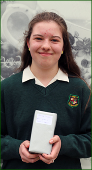 junior student of year mary ward