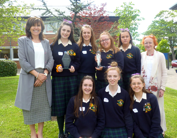 9b3cf9644d0 The TY Prosper Fingal 'Make a Difference' award is presented to students  who have made a difference to others within our school life.