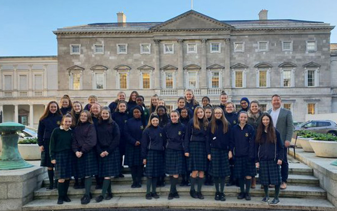 leinster house trip